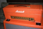 Marshall 1987 Plexi Custom Orange Tolex Stack - 3