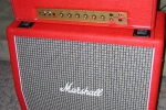 Marshall 1987 Plexi Custom Red Tolex Stack - 1