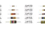 Resistor Sizes and Color Bands