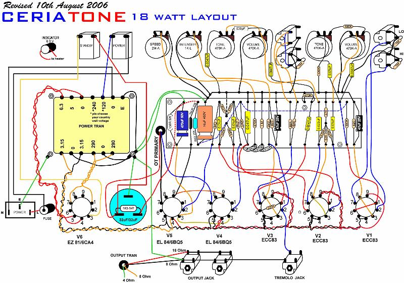 Marshall Ceriatone Layouts Archivesrharchives: 50 Watt Marshall Schematic At Gmaili.net