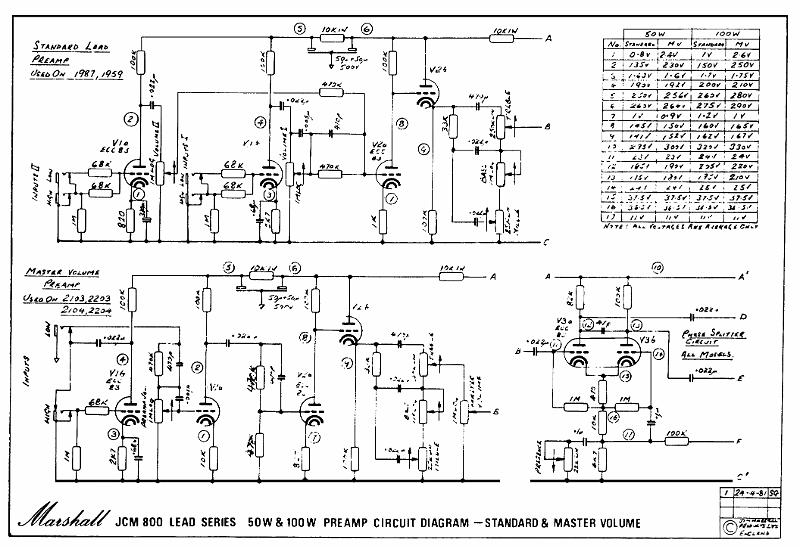 Marshall St Ard Schematics Archivesrharchives: Marshall Amps Schematics At Gmaili.net