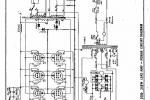 Marshall JCM 800 Model 2000 250W Lead Amp - Power Circuit Diagram Revision 1