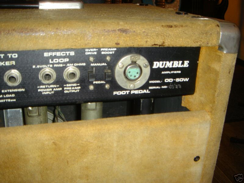Dumble Overdrive Special – Amp Archives