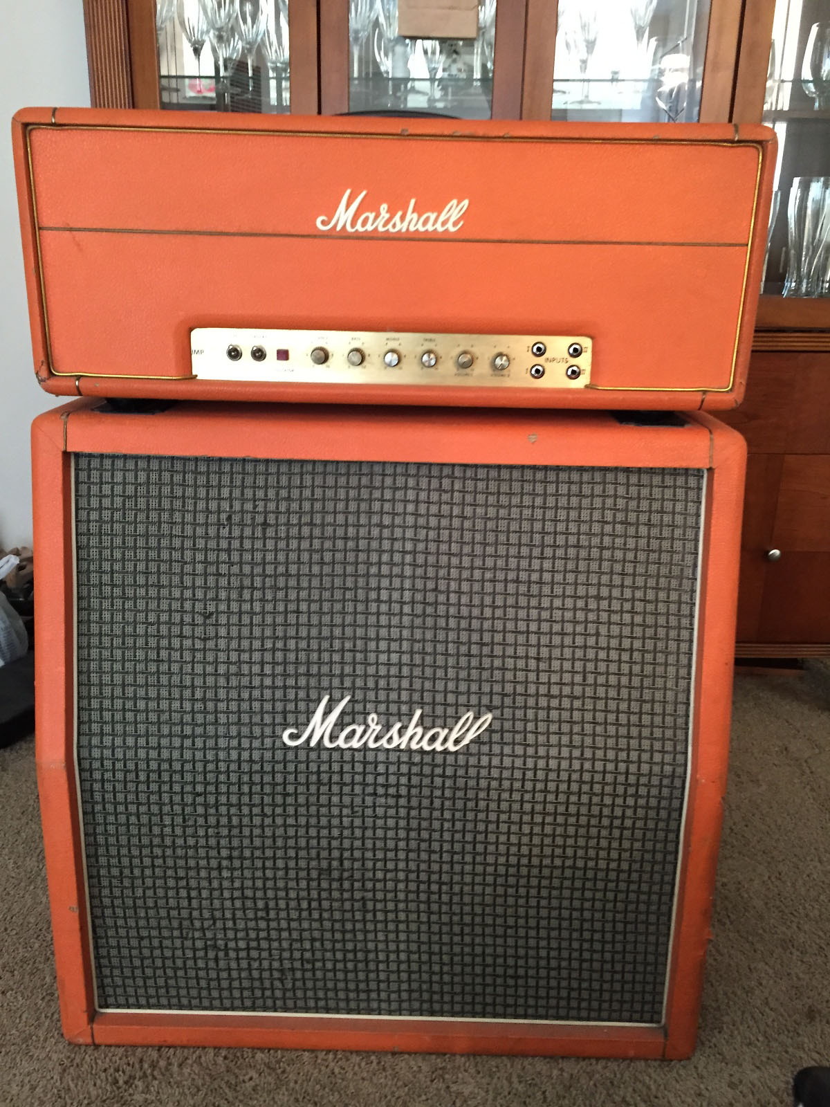 Marshall Model 1967 Major Bass Lead Amp Archives